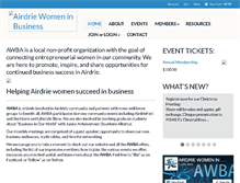 Tablet Preview of airdriewomen.ca